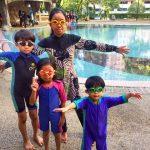 Yeayy… Dah pandai berenang! Kelas renang SWIMRUSH best!