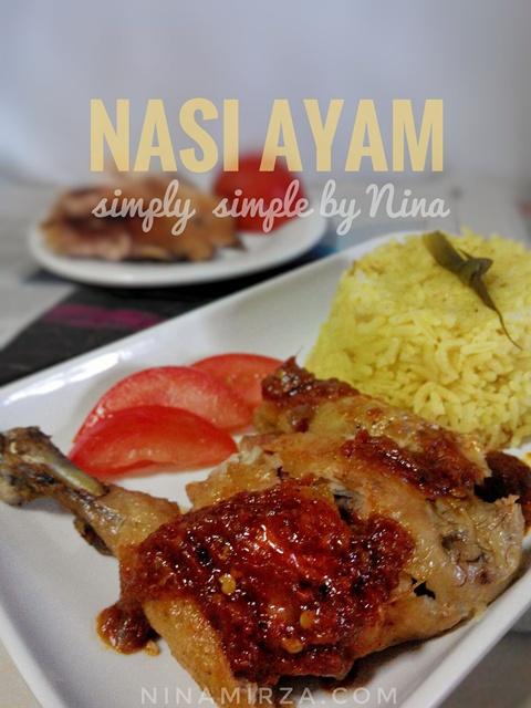 Resepi Nasi Ayam Paling Senang