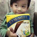 Etsumell –  Susu Kambing Coklat + Oats yang sedapppp…!! Bagus tuk anak-anak minum sahur