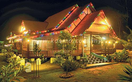 Rumah Kampung Hari Raya