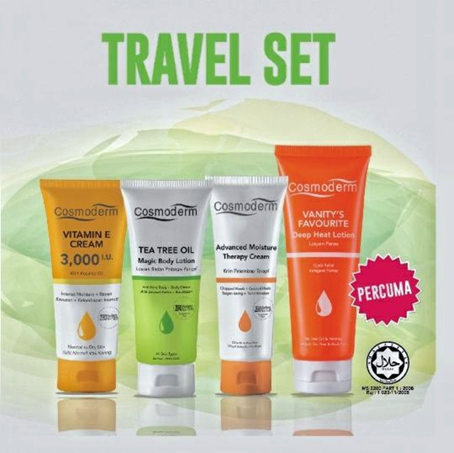 Cosmoderm Travel Pack