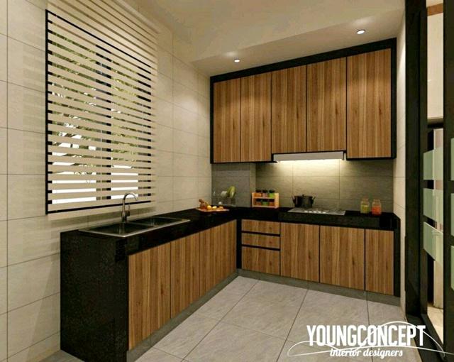 Reka Bentuk Dapur Rumah Di Malaysia Yang Pasti Akan Buat Anda Kagum