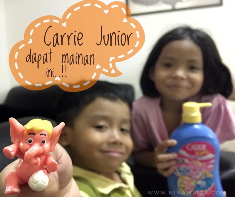 Carrie Junior Sukan RIA