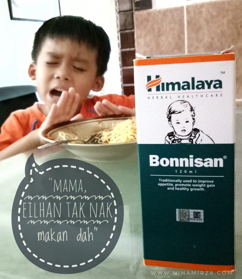 Bonnisan Himalaya bantu tambah selera anak makan