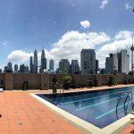 Sapa sangka The Regency Hotel KL punya view KL paling cantik