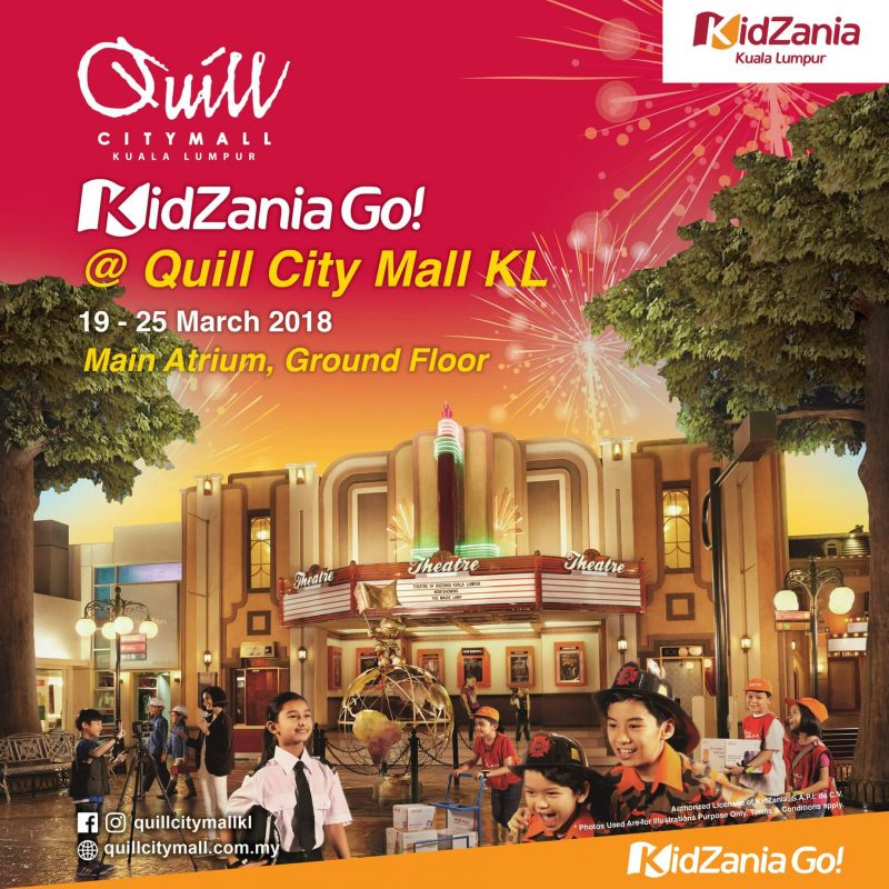 Fun KidZania GO Quill City Mall KL