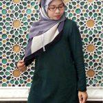 Hana Tajuddin Tshirt Muslimah Labuh Basic Tee 2.0
