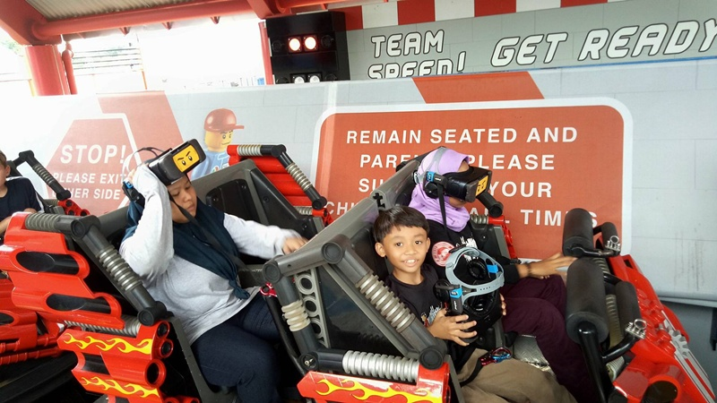 LEGOLAND KBBA9 FAMILY DAY VR Coaster