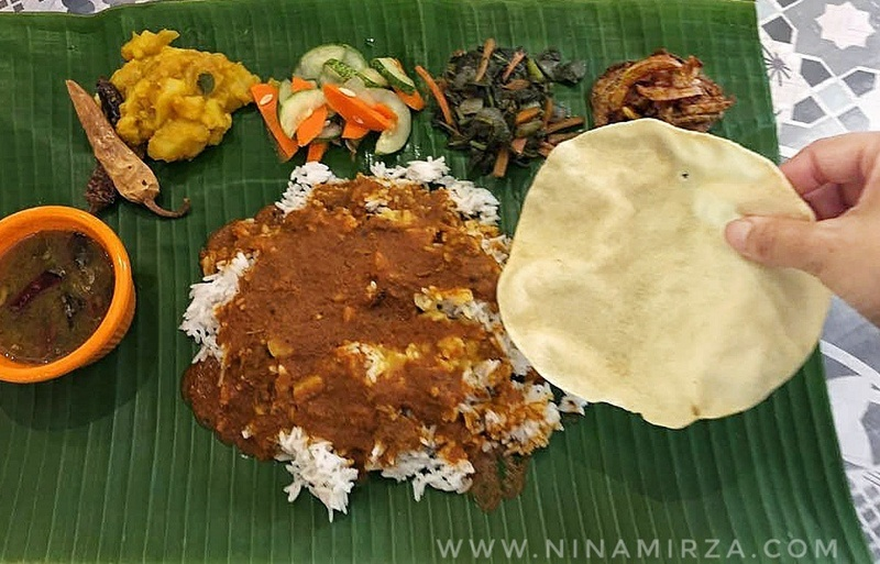 Nasi Daun Pisang Curries N Claws Banana Leaf Rice