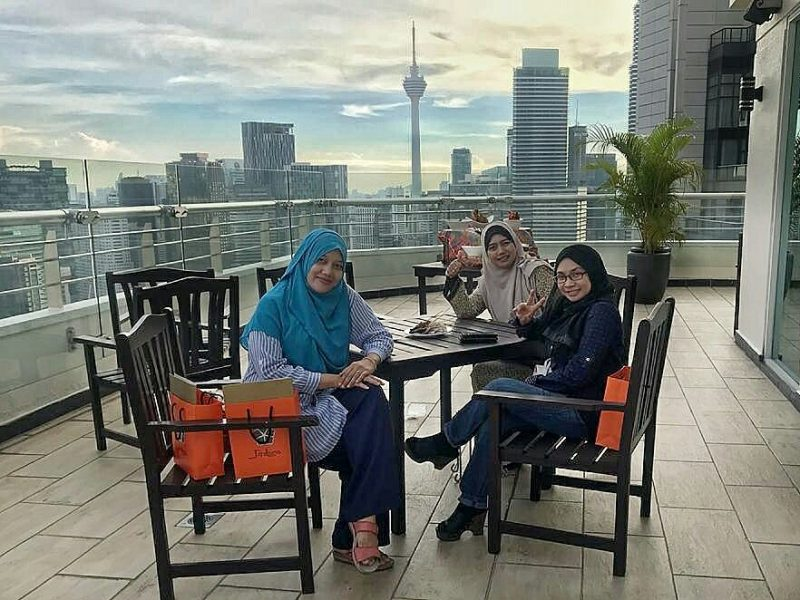 PNB Perdana On The Park KL Buffet Ramadhan Nostalgia Desa Ramadan
