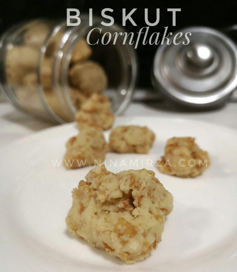Resipi Biskut Cornflakes Mudah Sedap Sukatan Cawan