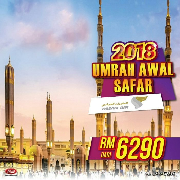 Juara Travel Pakej Umrah