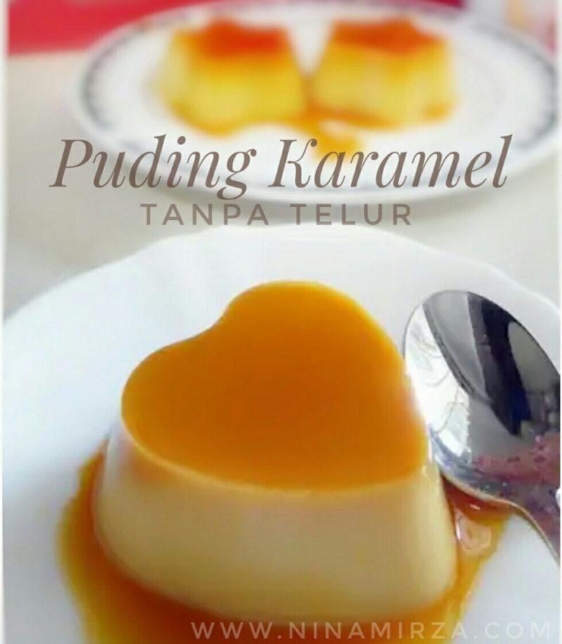 Resipi Puding Karamel Tanp Telur Paling Senang Sedap
