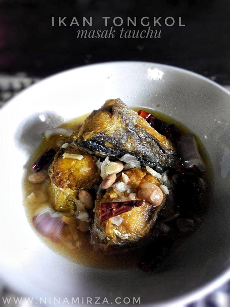 Menu Sahur Paling Ringkas Ikan Tongkol Masak Taucu