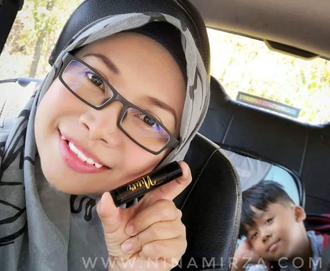 Lip balm NUUR merawat Bibir kering halal