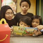 Dah tahu ke? Beli Happy Meal McDonalds dapat buku best Treetop Twins Adventures