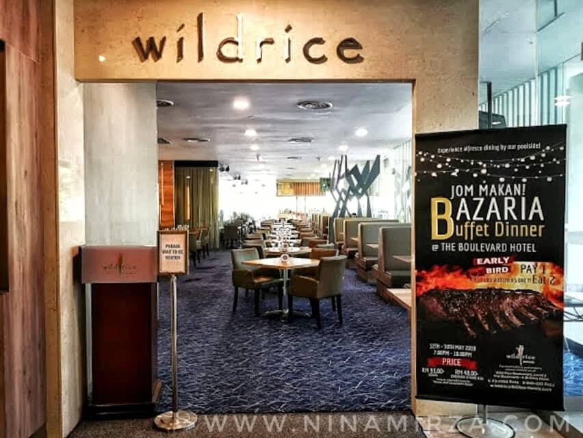 BUFFET RAMADHAN KL 2019 BAZARIA WILD RICE THE BOULEVARD HOTEL