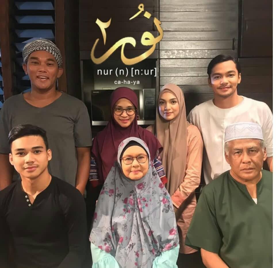 Barisan Pelakon Drama NUR 2 Samarinda TV3