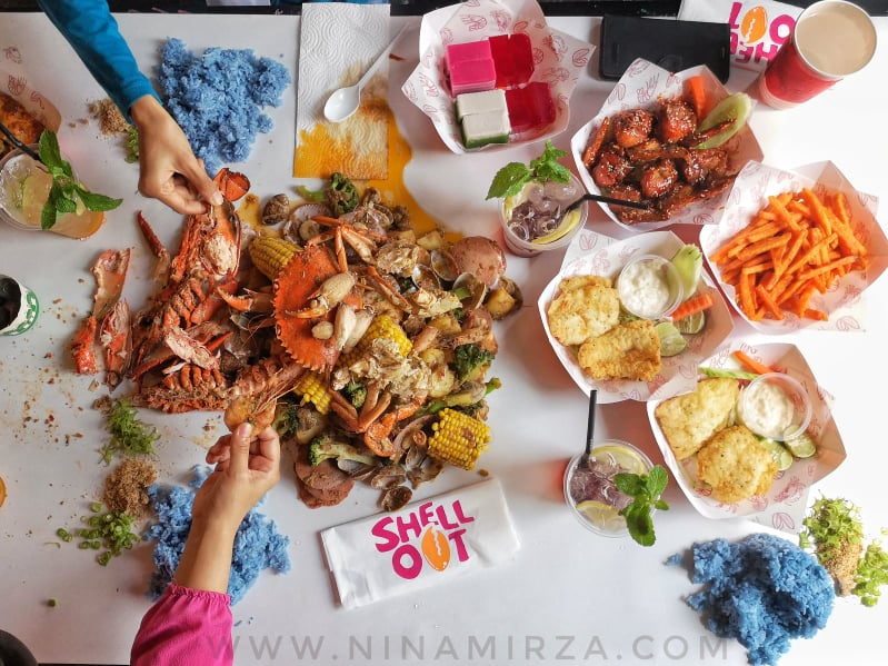 SHELL OUT Sedap Syiok