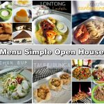 APA MENU BEST JUADAH SIMPLE OPEN HOUSE?