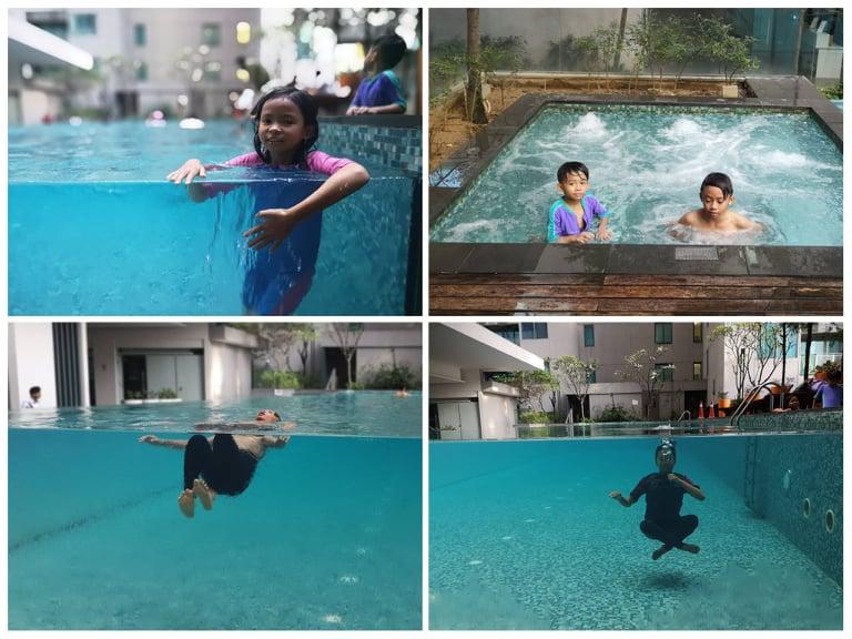 Swimming pool - infinity pool weyhh… cun giler!