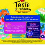 Taste Of Paradigm Mall Spend Be Reward