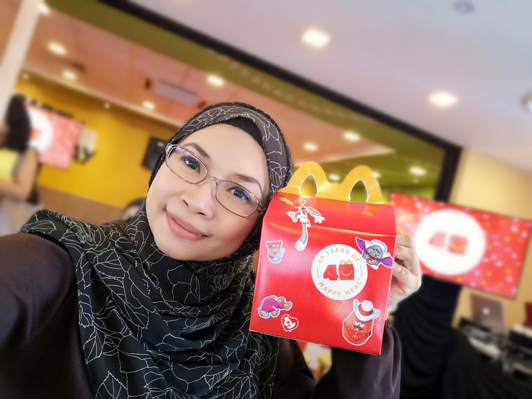 McDonald's 40 tahun HAPPY MEAL