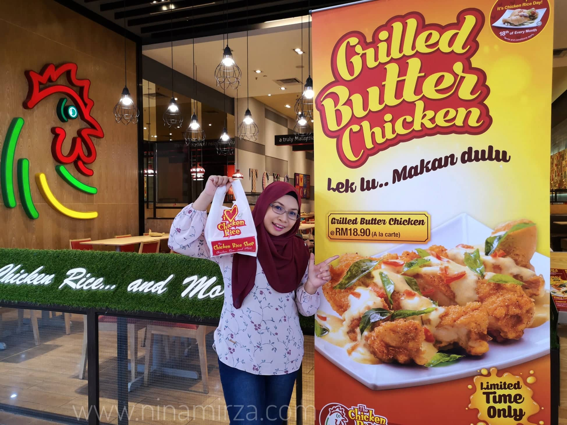 Grilled Butter Chicken TCRS Ala Carte RM18.90