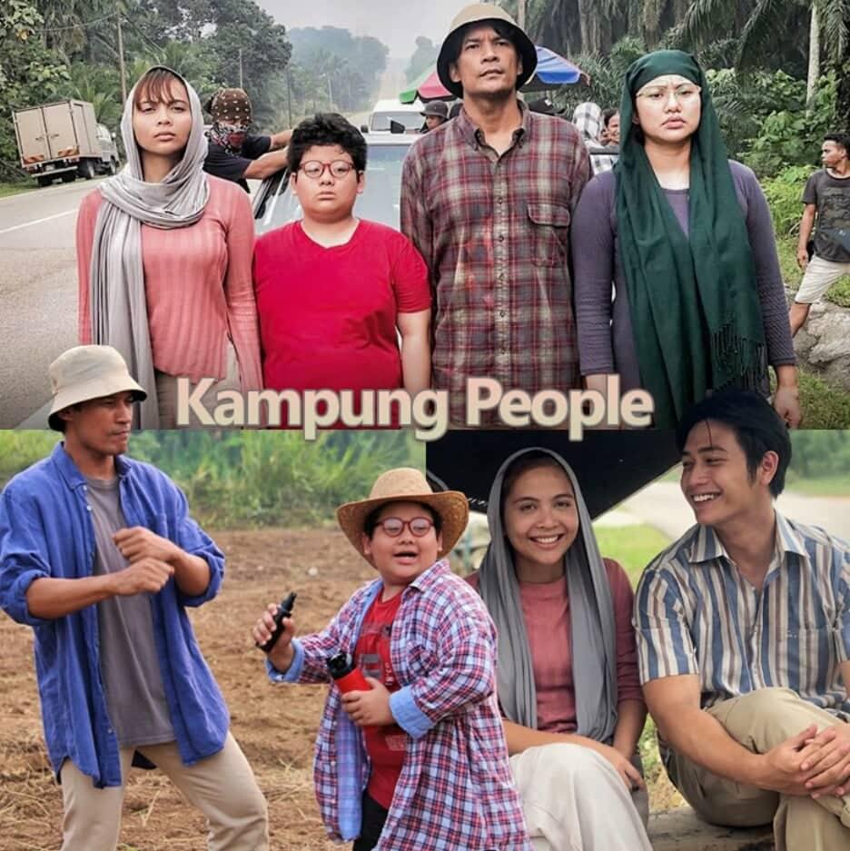 Sinopsis Drama KAMPUNG PEOPLE