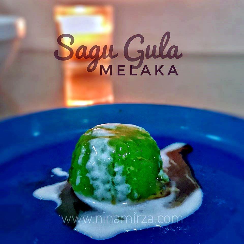 Resipi Sagu Gula Melaka
