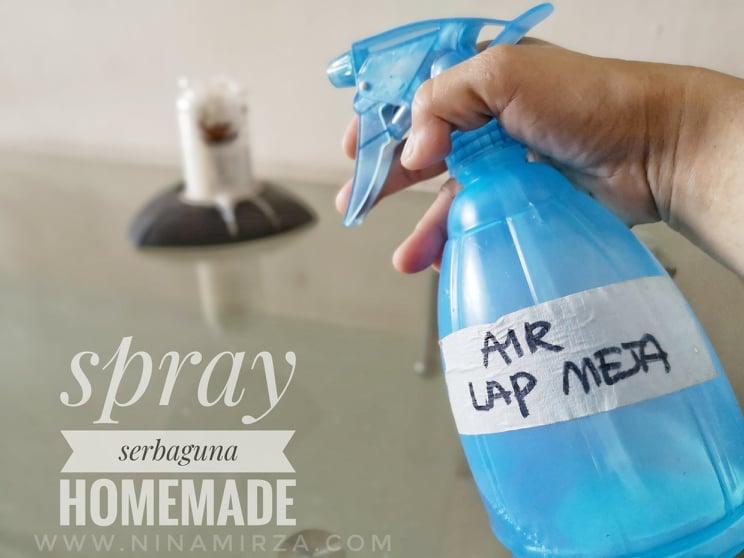DIY Spray Homemade Selamat