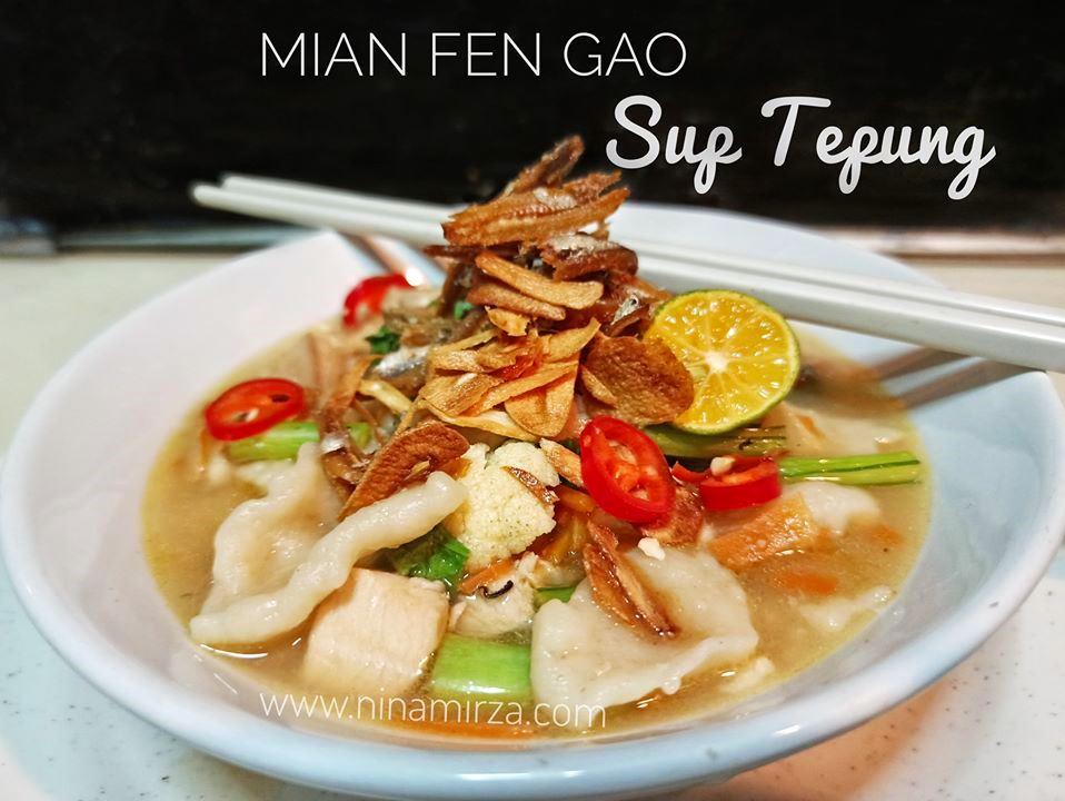 Resipi Sup Tepung Viral Mian Fen Gao