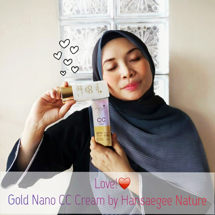 REVIEW GOLD NANO CC CREAM HANSAEGEE NATURE