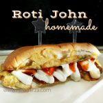 Resipi Cara Buat Sendiri Roti John Homemade Sedap Mudah Senang