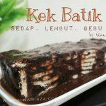 Resipi KEK BATIK VIRAL LEMBUT GEBU SEDAP SANGAT