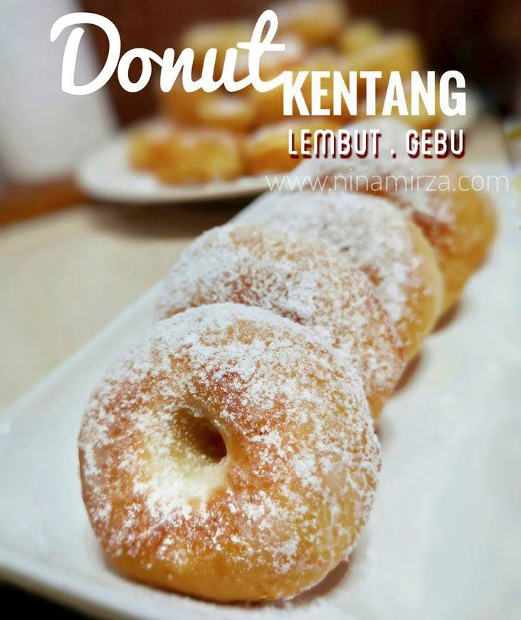 TIPS Resipi Donut Lembut Gebu