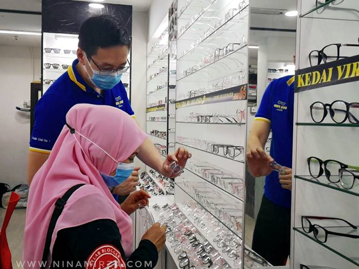 Kedai Spek Murah Sungei Wang KL William Eye Pro Vision
