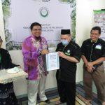 Tabung Waqaf Al Quran dan Kitab KOD BRAILLE Sumbangan ENSANY GLOBAL untuk PERTIS
