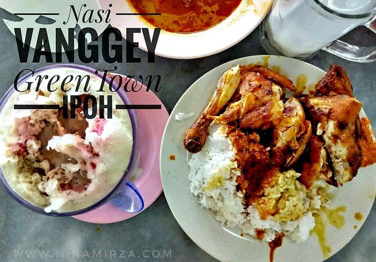 Tempat Makan Sedap Ipoh Nasi Vanggey Green