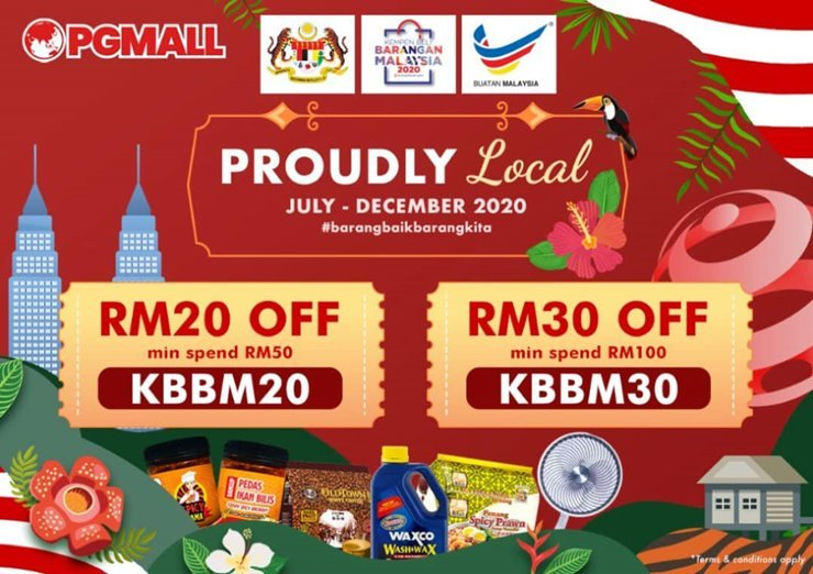 PGMall Proudly Local SALE Shopping Online