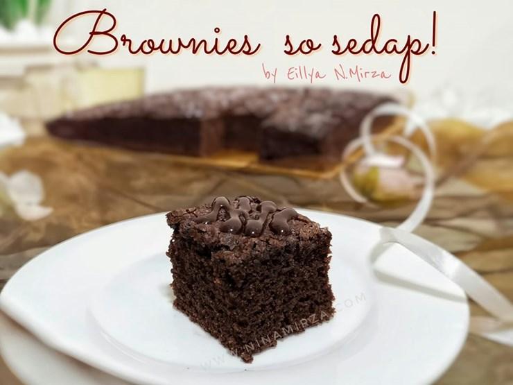 Resipi Brownies Kedut Mudah Sedap Sukatan Cawan Gerenti Jadi