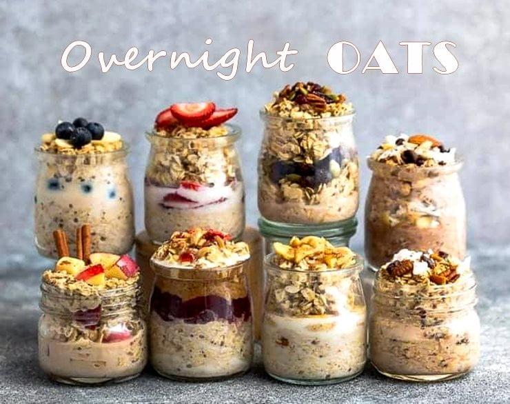 Resipi Mudah Buka Puasa Sahur MENU EAT CLEAN Overnight OATS