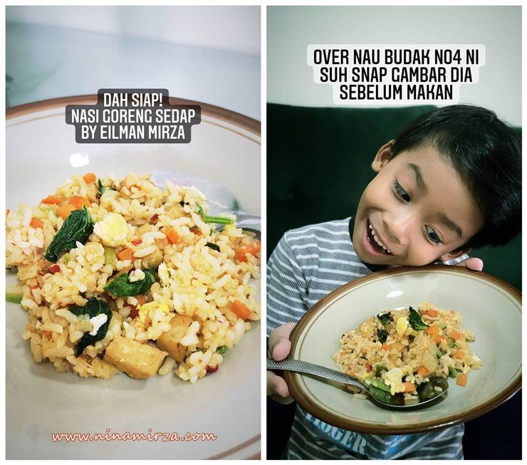 TIPS anak rajin bantu buat kerja rumah anak lelaki juga perlu tahu masak