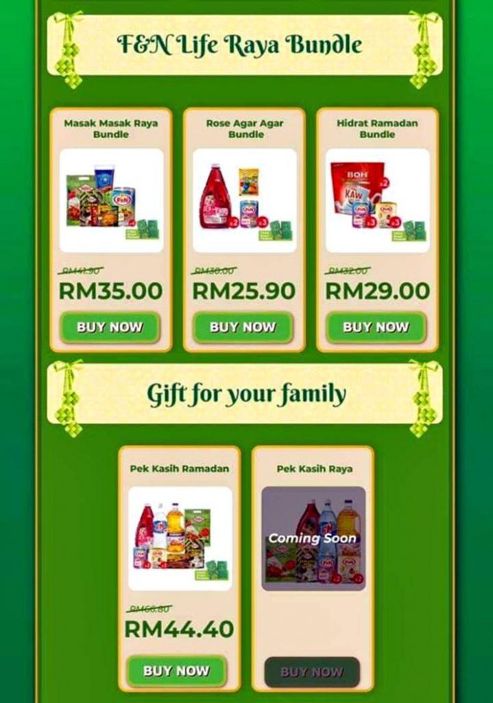 Aplikasi FnN Life mudah murah jimat berbelanja Bundle Ramadan Raya