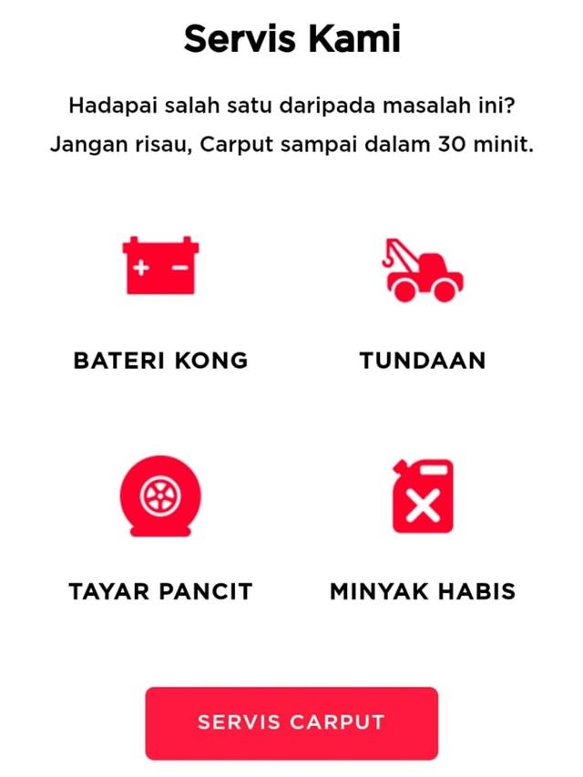 CARPUT Bateri Kereta Online